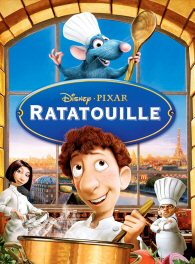 A rat named Remy (voice by Patton Oswalt) dreams of becoming a great chef despite his family's wishes and the obvious problem of being a rat in a decidedly rodent-phobic profession. When fate places Remy in the city of Paris, he finds himself ideally situated beneath a restaurant made famous by his culinary hero, Auguste Gusteau (voice by Brad Garrett). Despite the apparent dangers of being an unwanted visitor in the kitchen at one of Paris' most exclusive restaurants, Remy forms an unlikely partnership with Linguini (voice by Lou Romano), the garbage boy, who inadvertently discovers Remy's amazing talents. They strike a deal, ultimately setting into motion a hilarious and exciting chain of extraordinary events that turns the culinary world of Paris upside down. Remy finds himself torn between following his dreams or returning forever to his previous existence as a rat. He learns the truth about friendship, family and having no choice but to be who he really is, a rat who wants to be a chef. Directed by Jan Pinkav and Brad Bird.
