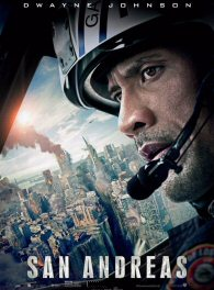 In San Andreas, California is experiencing a statewide earthquake that goes on record as easily the biggest earthquake in history. Dwayne Johnson plays Ray Gaines, a helicopter rescue pilot for the Los Angeles Fire Department, who is trying to find his daughter, Blake (Alexandra Daddario), who is in San Francisco amidst the chaos. Ray's estranged wife, Emma, is forced to turn to Ray for help, as he is her last resort. Together they journey to save their daughter.Directed by Brad Peyton.