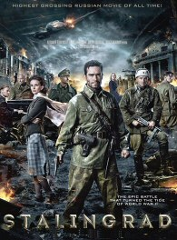 An epic look at the battle that turned the tide of World War II. A band of determined Russian soldiers fight to hold a strategic building in their devastated city against a ruthless German army, and in the process become deeply connected to two Russian women who have been living there. Presented in IMAX 3D, the scale of the battle contrasts dramatically with the human drama of the Russian soldiers, the few remaining civilians and their invaders into Stalingrad. Directed by Fyodor Bondarchuk and Fedor Bondarchuk.
